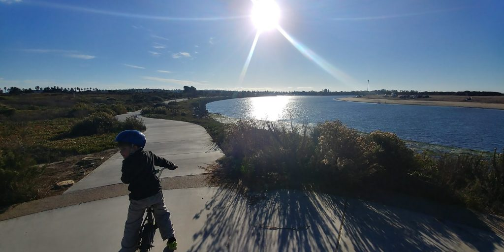 Fiesta Island Bike Trails
