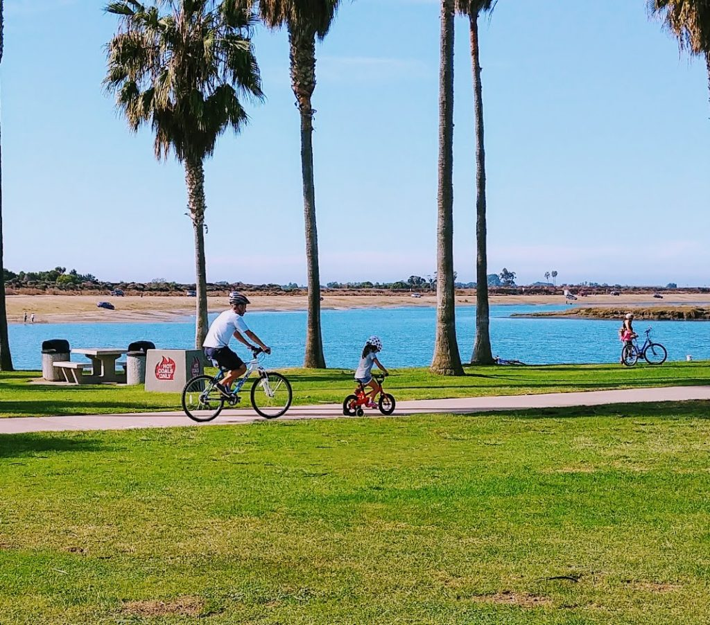 Biking Mission Bay
